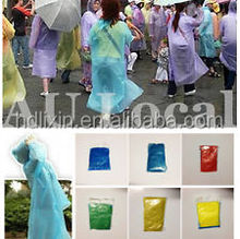 Poncho Raincoat,Disposable Emergency Rain Cover Jacket for theme parks Festival