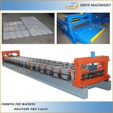 Zhiye Zinc Wall Cladding Panels Forming Machine /Wall&Roof Tiles Manufacturing Machine