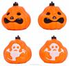 wholesale halloween decoration, plastic halloween pumpkin lights(SWTJU524)