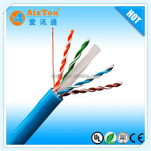 High Adaptability UTP lan cable cat6 network cable with CE/ROHS approve