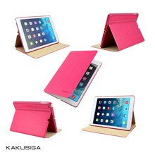 H&H 2015 best luxury for ipad leather smart case/leather case for ipad air/for ipad air case