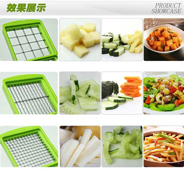 Eco-friendly Multiple vegetable slicer chopper