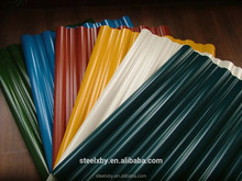 PPGI PPGL/Prepainted galvalume roofing/galvanized corrugated sheet zinc roof sheet price