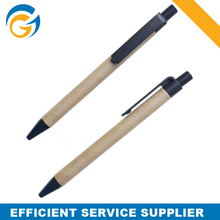 Black OEM Custom Recycled Paper Pen