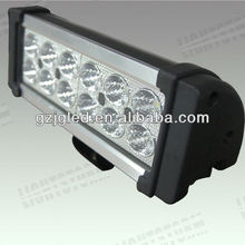 2013 hot sale! 36w 12v ar light for trucks 4x4 off road led light