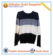 Hot selling 100 cashmere knitted man custom sweater