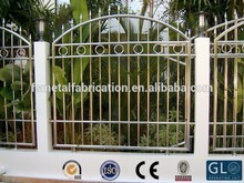 Factory Direct Cheap Garden metal fence gate