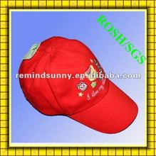 2012 red new best selling sport hat