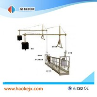 high rise suspended construction building high lift platform truck