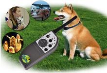 New pet dog training collar electronic shock dog training shock vibrate collar 1000m+LCD Remote Control Dog Training Collar