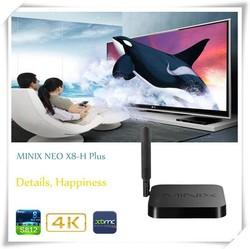 4k s812 quad core processor neo x8h plus media hub Android tv box