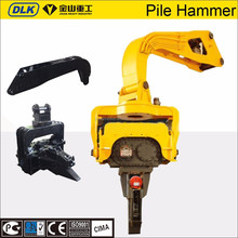 China manufacturer vibratory hammer pile driver for construction foundation