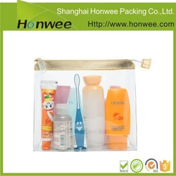 alibaba china new soft printed clear pvc plastic packaging bag