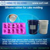 wholesale food grade rtv liquid silicone for chocolate mold, cake form moulding