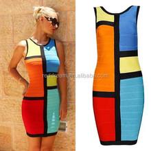 2015 high fashion adult lady girls party dress