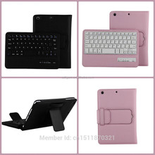 8' V3.0 wireless bluetooth tablet keyboard case for ipad