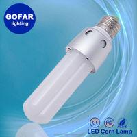 2015 Hot sales High lumen CE ROSH FCC available 6w E27 parking lot retrofit led bulb light