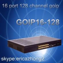 Big discount 16 ports goip gateway 16-128 voip gateway auto imei change goip16-128