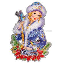 Venta al por mayor de vidrio adornos de navidad, papel pintado 3d suministros, partido de la decoración de la pared