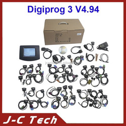 2015 DHL Fast shipping Digiprog3 V4.94 and Digiprog III Odometer Programmer with Full cable the Newest Release 4.94 Digiprog 3