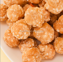 mixed pet food chicken rice ball for pet snack