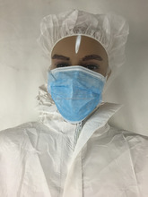 Medical and food industry used heavy duty PP nonwoven waterproof coverall coated with PE film