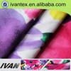 Fashion new design pretty soft polyester DTY fabric textile printing