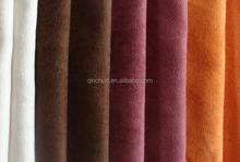 Tecido sintético tecido de camurça