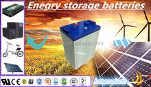 VRLA UPS battery 2v 400ah rechargeable deep cycle battery 2v 400ah wind turbine 2v 400ah