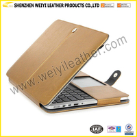 High Quality Envelope PU Leather Notebook Sleeve Case Bag Cover For Laptop