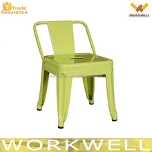 WorkWell industrial metal frame stackable bar chair Kw-St14