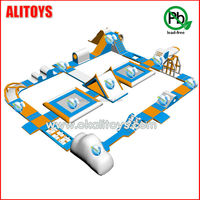 inflatable floating slide,inflatable adult water park,inflatable water toys