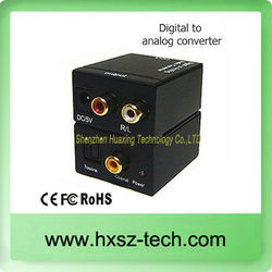 New Audio Converter Digital Optical to analog Audio converter