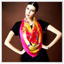 Individual design fashion accessories digital printed shawl/scarf