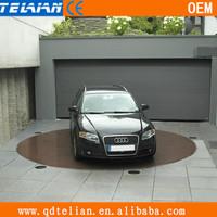 Private garage car rotating platform for turning,vehicle rotating platform