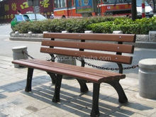 100% recyclable WPC materials WPC bench