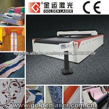 cuero, PVC, tela sintética sistema de corte por laser