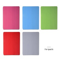 Hot-selling smart cover for ipad air 2 stand cover pu flip cover