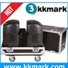 flight case for speakers/flight cases with 4 wheels