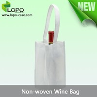 Heat transfer printing Non-Woven wine Bag with competitive price