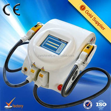 vertical salon use 2 handles salon home use top quality ipl laser in motion