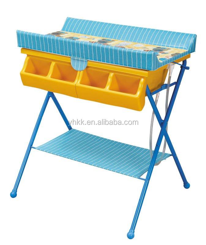 Table langer avec baignoire b b pas cher meubles b b s for Commande table a langer