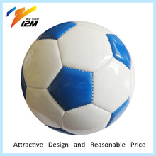 Sky blue color promotional toy footballs