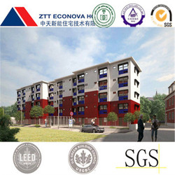 prefabricated houses and container homes with eco-friendly system for usa standard