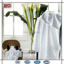 Hot Sell Average Size Customize Logo 21 Cotton White Hotel Towels
