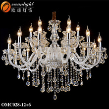 Christmas lights china wireless remote control chandelier modern family life fragrance lamp OMC028-12+6W