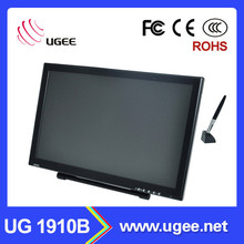 Ugee LCD screen19 inch graphics monitor with digital pen