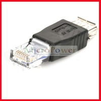 usb female to ethernet rj45 male adapter /Connector