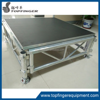 aluminum assemble stage performance portable event stage outdoor staging