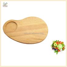 Délicat cuisine chêne billot de bois